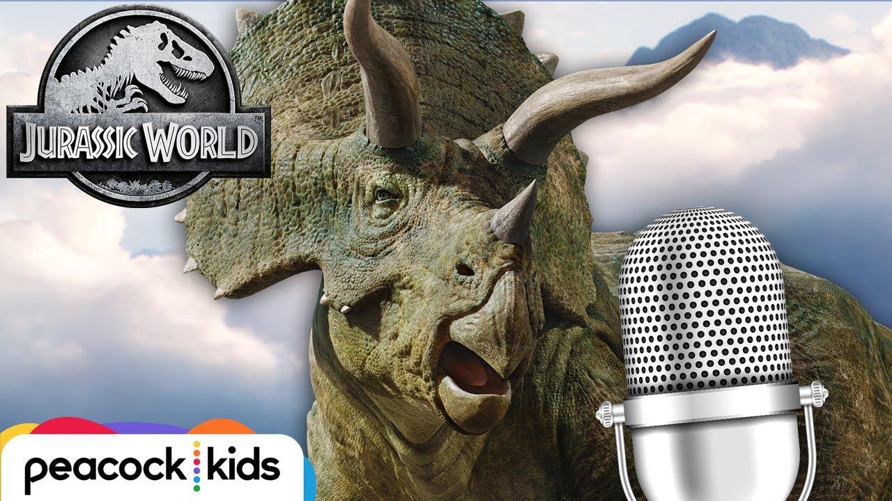 ASMR Calming Dinosaur Sounds (Slow Breathing)   JURASSIC WORLD
