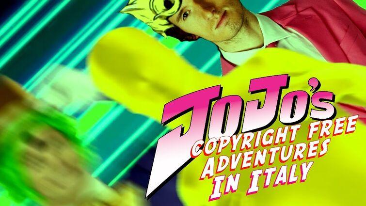 JoJo's Copyright Free Adventures In Italy - 7 page Muda