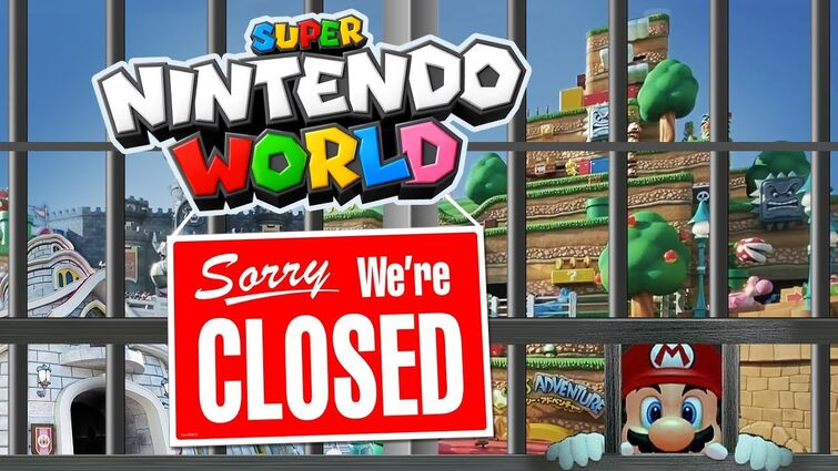 Super Nintendo World Temporarily Closes Due to State of Emergency