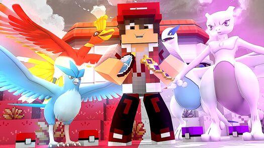 Minecraft: LIGA POKEMON #1 - A NOVA JORNADA ‹ CaiqueVieira ›