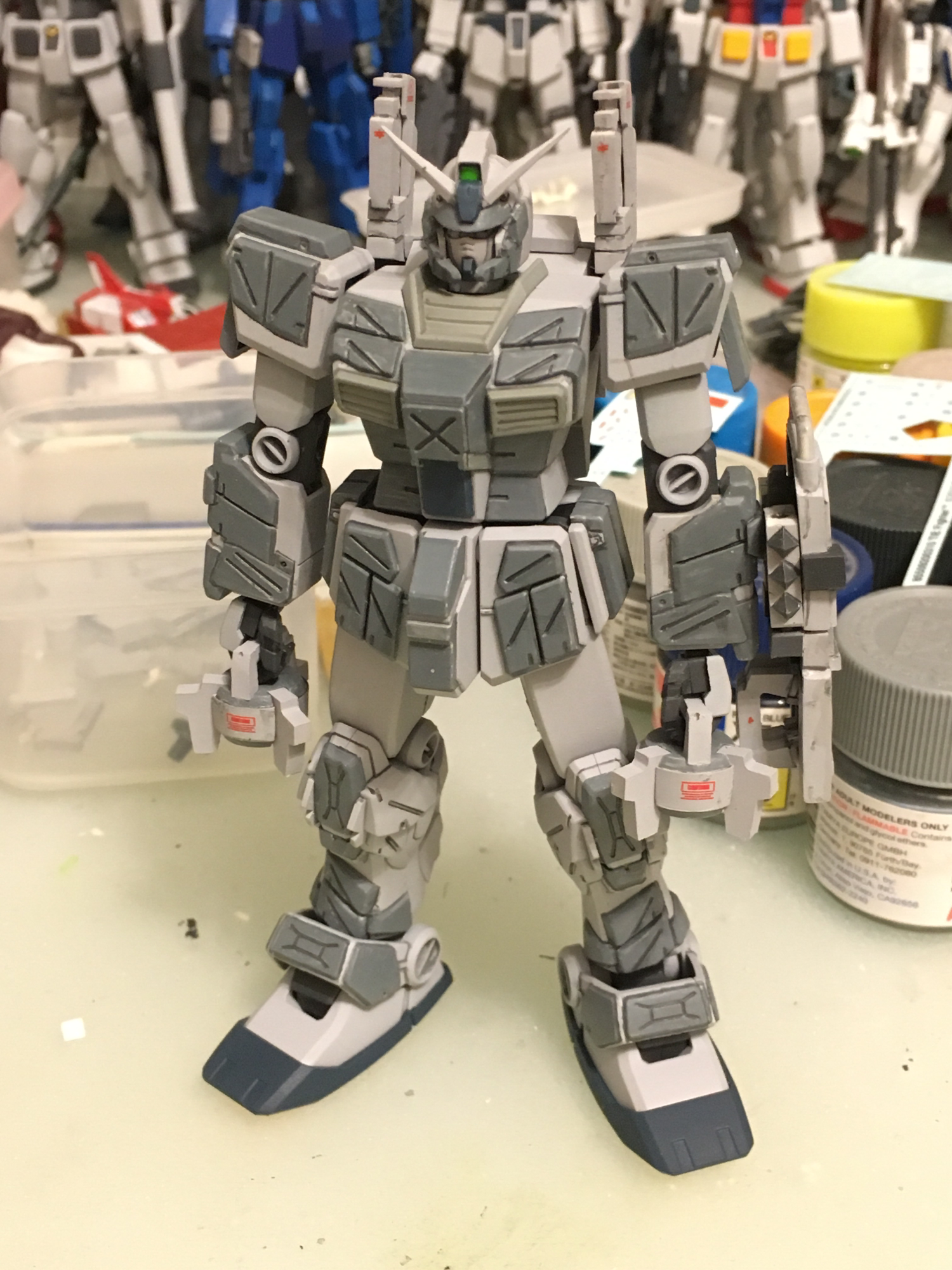 HGUC RGM-79FC striker custom