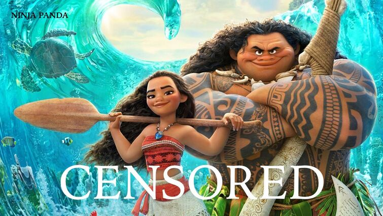 MOANA | Unnecessary Censorship | Try Not To Laugh