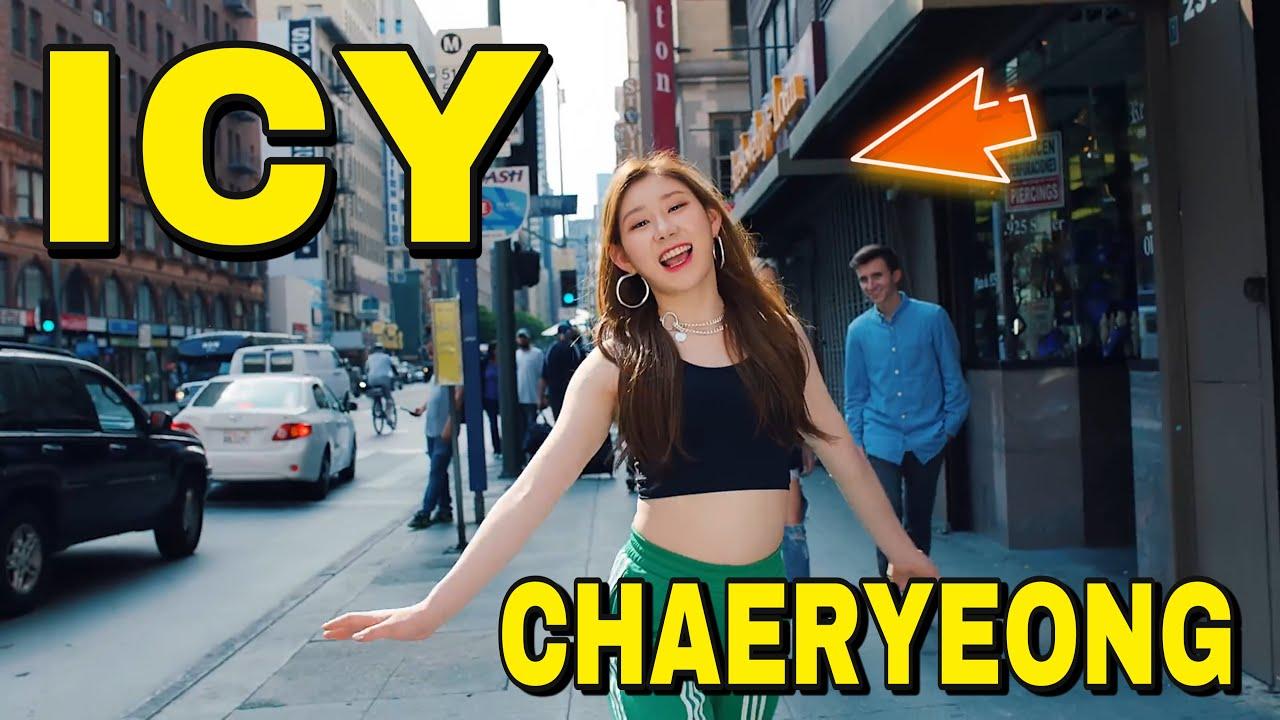 ITZY - ICY MV (Chaeryeong Focus)