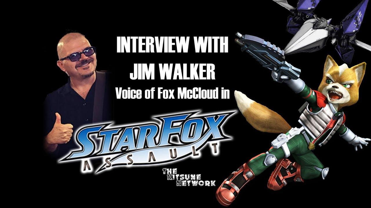 Star Fox Interview with Jim Walker: Voice of Fox McCloud (Star Fox Assault)