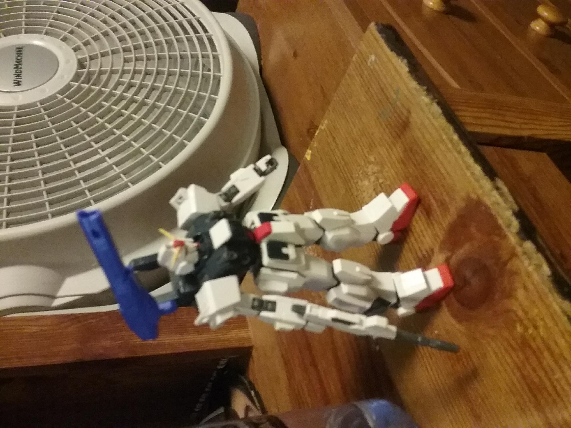 My first gunpla back customize