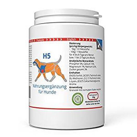 ww7 H5 | Transport & Kraft Formel Hunde | 150g natürlich Premium Granulat: Amazon.de: Haustier