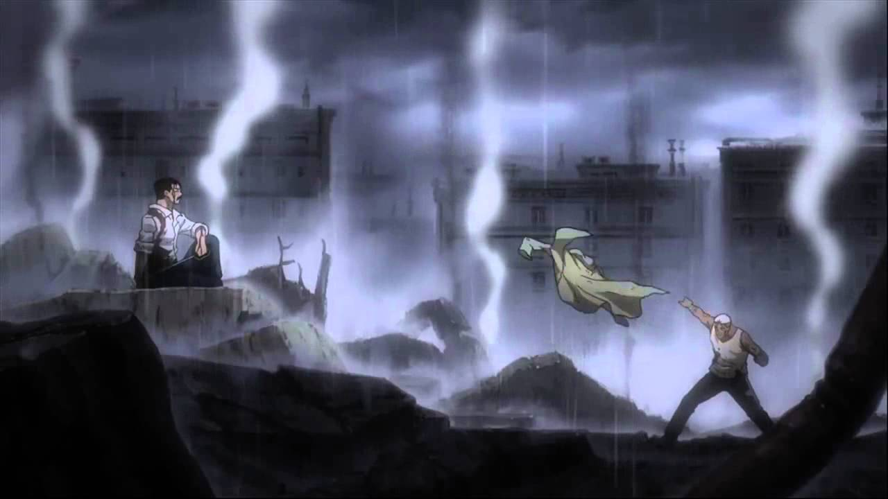 Fullmetal Alchemist Brotherhood Opening 5 (owned by funimation)