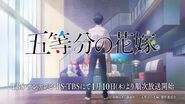 TV動畫「五等分的新娘」宣傳CM 15秒