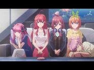 5Toubun no Hanayome TV Commercial -五等分の花嫁-