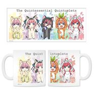 5Toubun Mug from Animaru - All Nakano Quintuplets