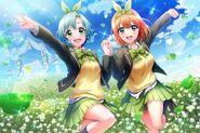 Four-Leaf Clover (Yotsuba and Towa)
