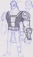 Four Arms Concept Art 1