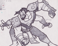 Four Arms Concept Art 2