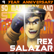 Rex 9th Anniversary