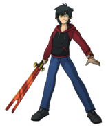 Red Omnitrix Sword