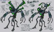 Nanomech Concept Art