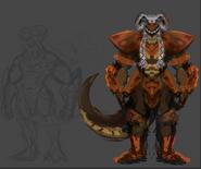 Scraptile Concept 2