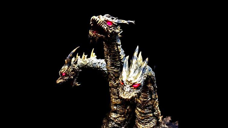 """""""Kaiser Souverän"""" - Godzilla: Final Wars - Keizer/Kaiser Ghidorah Appears Mash-Up Remix"""