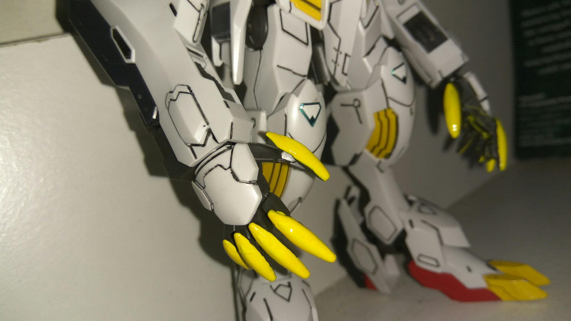 Barbatos Claws Painting