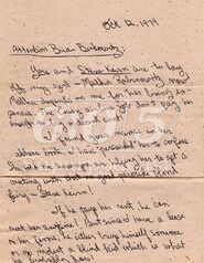 Malka's Angry Boyfriend Letter 1 (photo courteousy of TGBL)