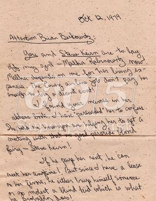 Malka's Angry Boyfriend Letter 1 (photo courteousy of TGBL).jpg