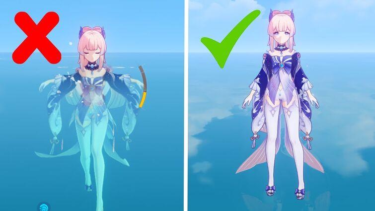 Fix Your Kokomi - How to Make Kokomi Endlessly Walk on Water - Genshin Impact