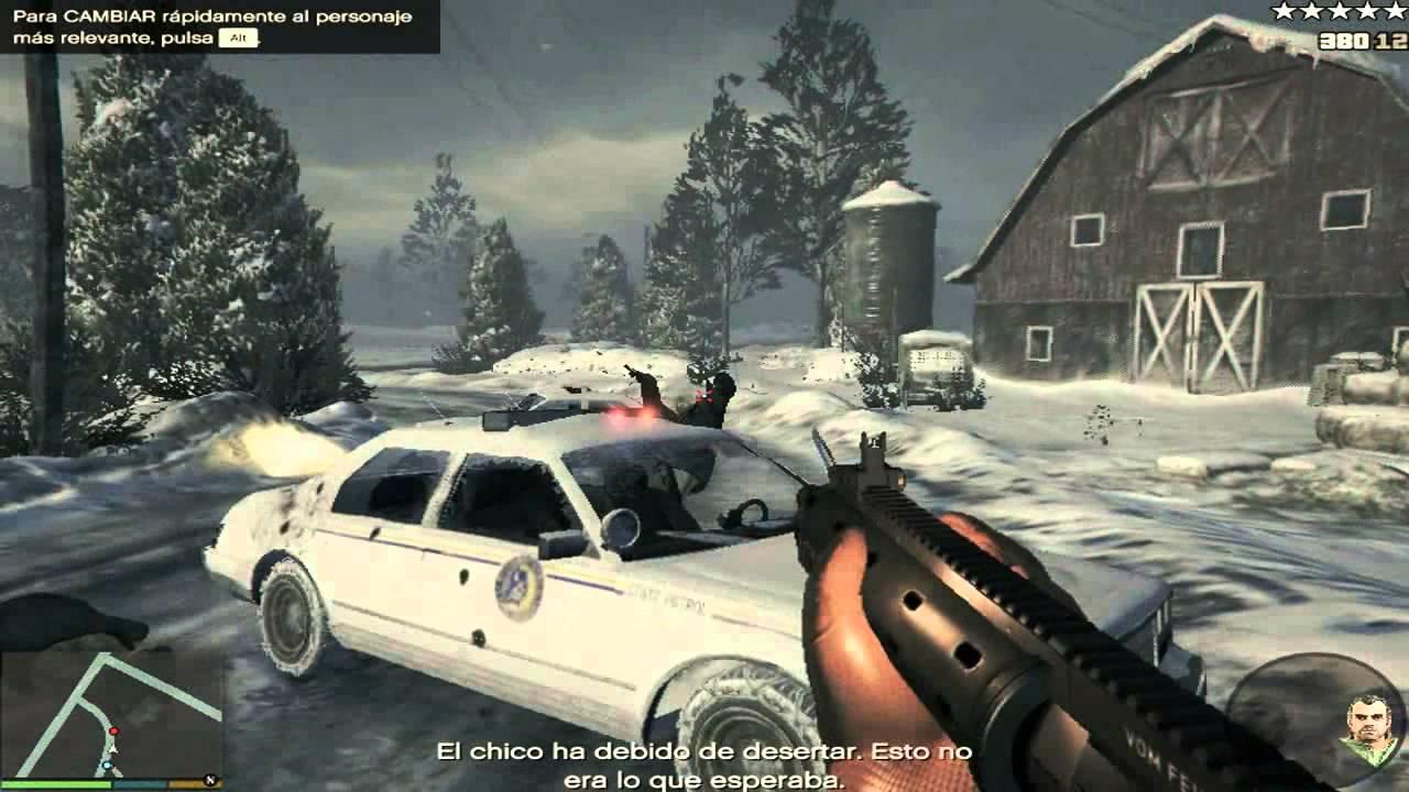 Grand Theft Auto V En Intel Celeron N2830/ Intel HD graphics 32mb