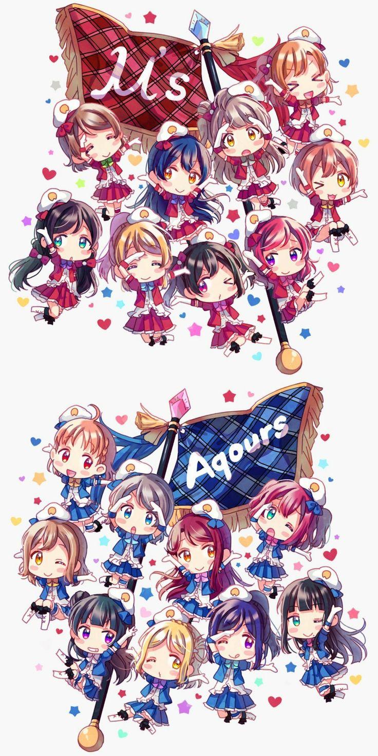 Love Live! School Idol Festival Chibi Chara Wallpaper!!