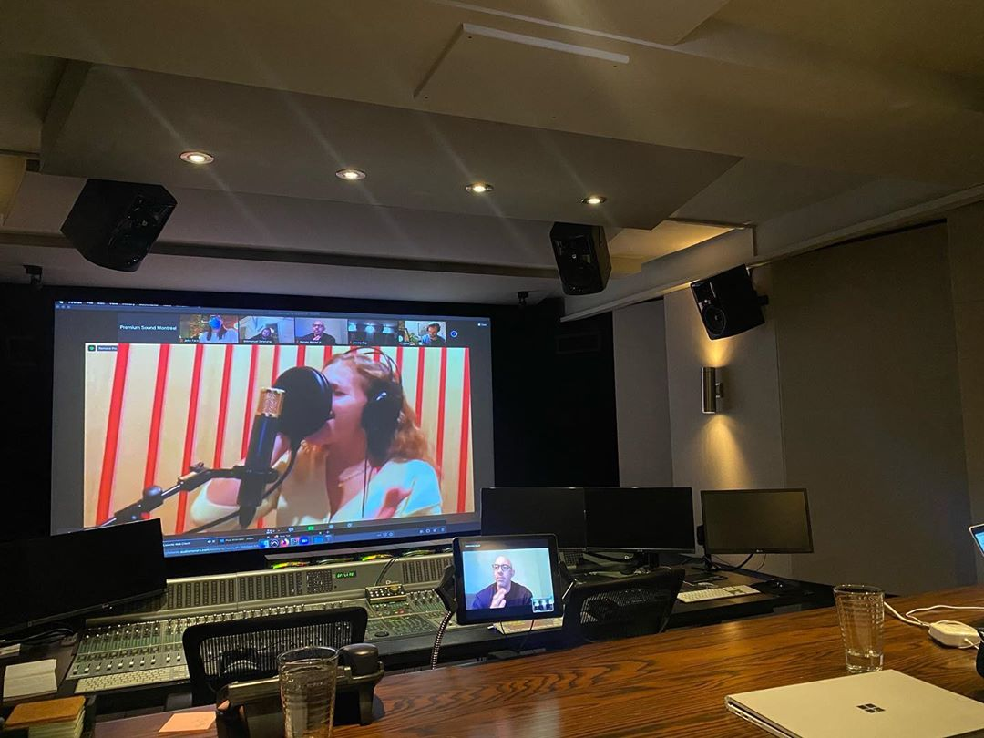 "Jeremy Zag on Instagram: ""Recording session today! 🙏❤️ @loumusiqueofficiel @harveymasonjr  #zagheroez #miraculousladybugthemovie #michaelgracey"""