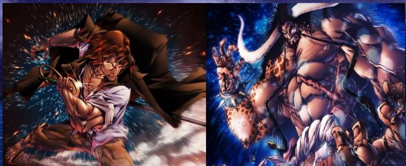 Shanks vs Kaido kto ma mocniejszą głowe