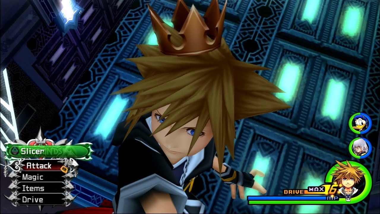 Kingdom Hearts 2.5 HD ReMIX - Kingdom Hearts 2 Final Boss [1080p]