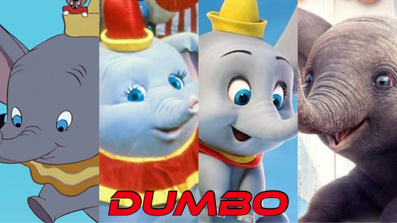 Dumbo | Evolution In Movies & TV (1941 - 2020)