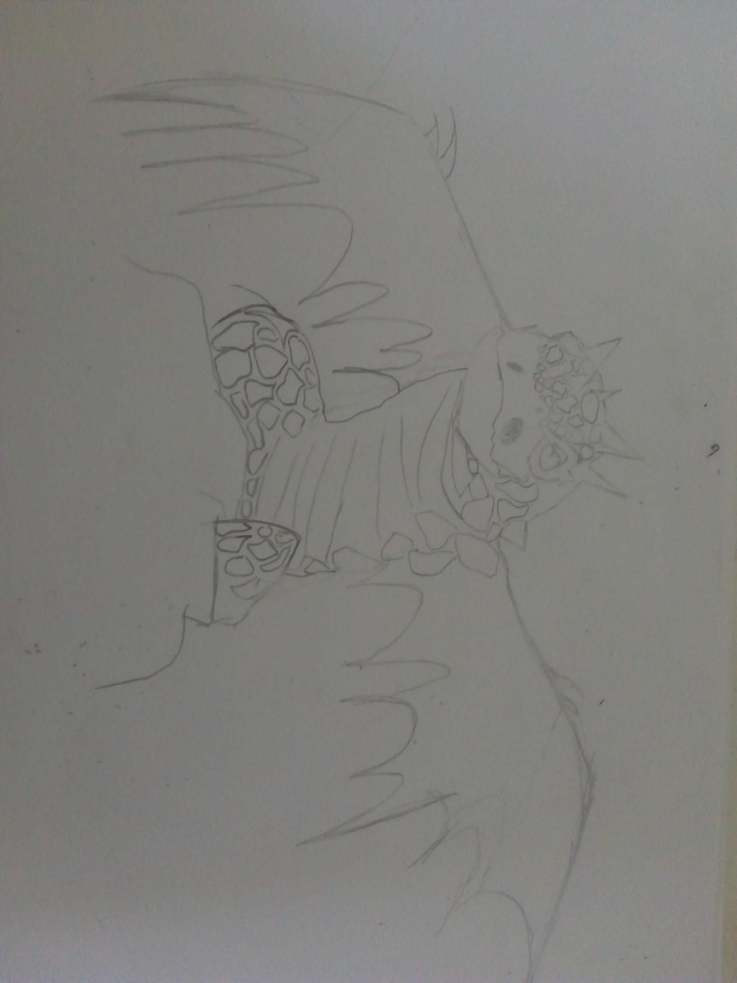 """El segundo es para """"Frida Vásquez"""" espero que te guste luego lo delineare y trataré de pintarlo"""