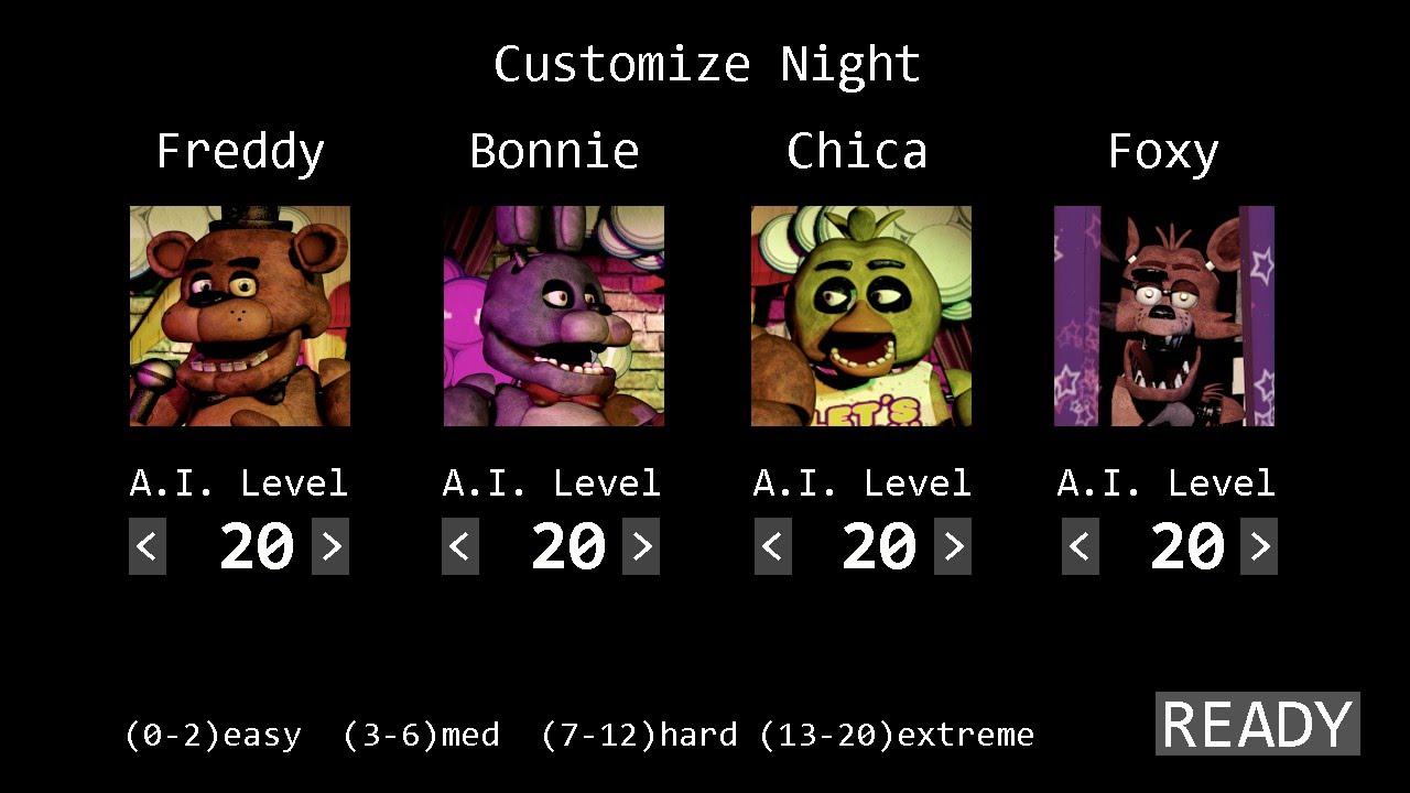 Guide: Wie schafft man alle Nächte in Five Nights at Freddy's PC