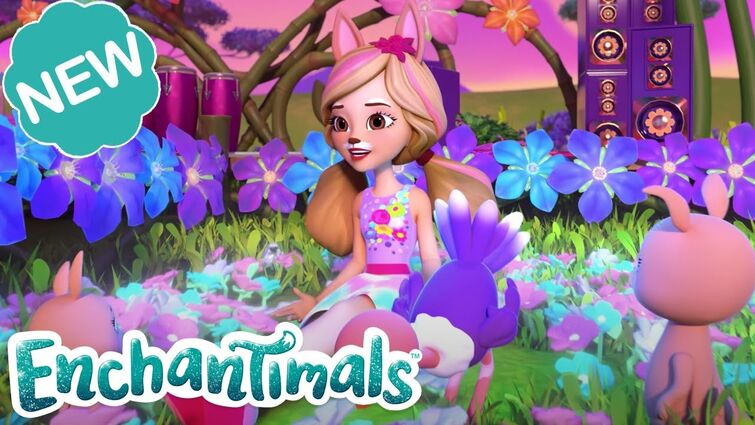 💗✨ SPARKLE PARTY PLANNING FUN! | Welcome to Sunny Savanna! Episode 7 | @Enchantimals  🌸✨