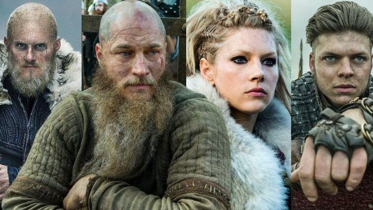Vikings / Legends never die
