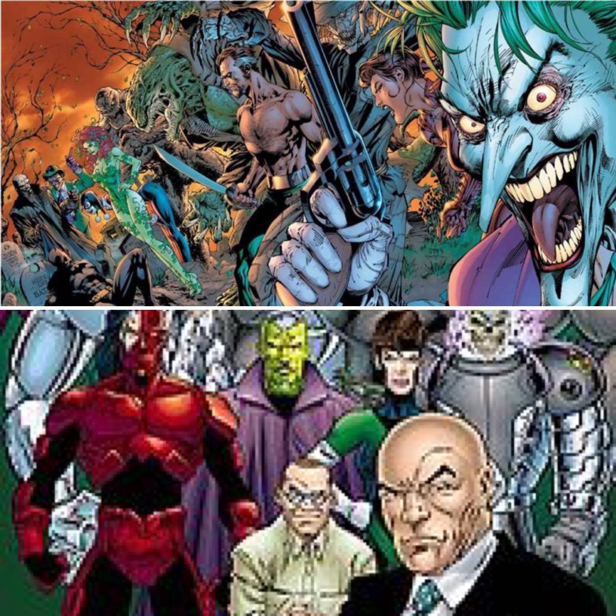 Batman villains vs Superman villains who wins
