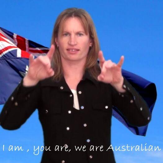 We are Australian - Auslan music video clip