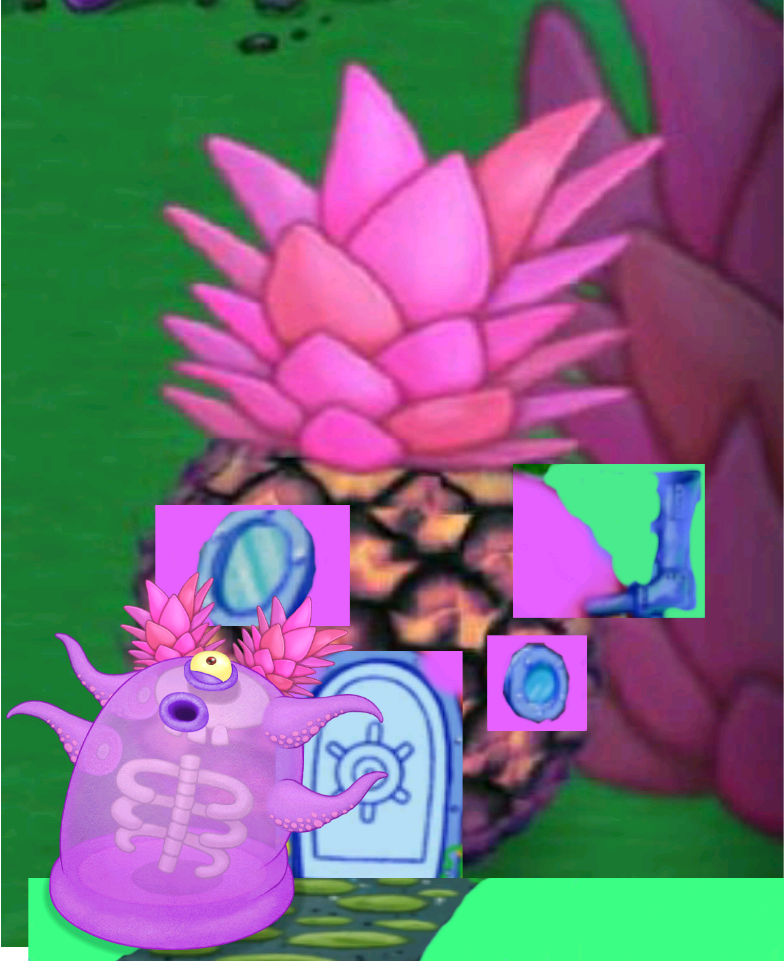 who lives in a spineapple under the sea