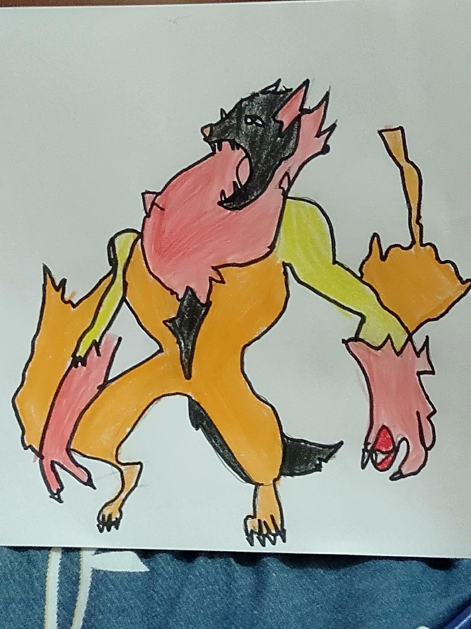 For Garry oakkk s' fakemon contest