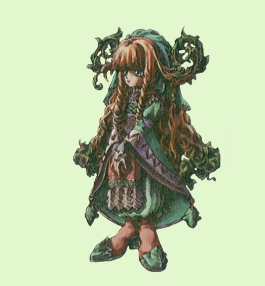 Who illustrated the characters in Legend of Mana?