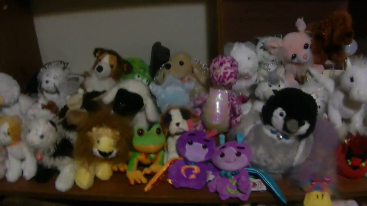 My Webkinz collection May 2018