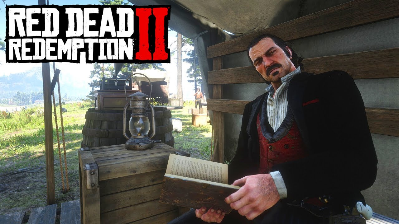 Red Dead Redemption 2 - Obtaining Camp Documents Using Photo Mode