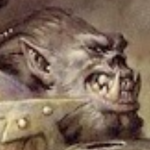A Stoned Orc