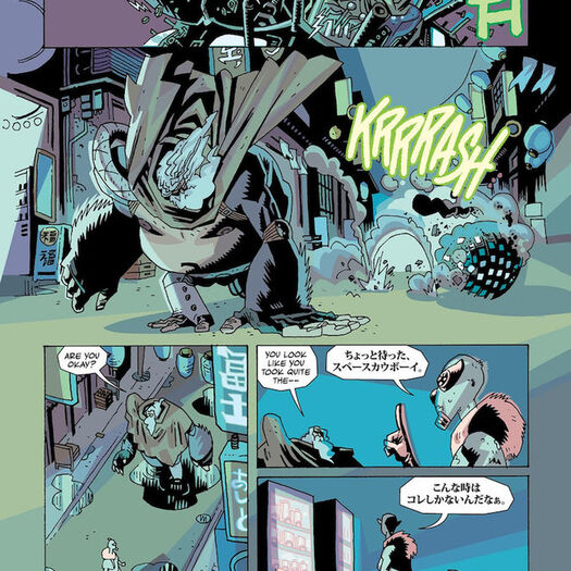 UMBRELLA ACADEMY Returns in HOTEL OBLIVION #1 Preview