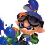 Splattered squid