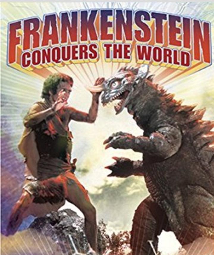 Godzilla VS Frankenstein