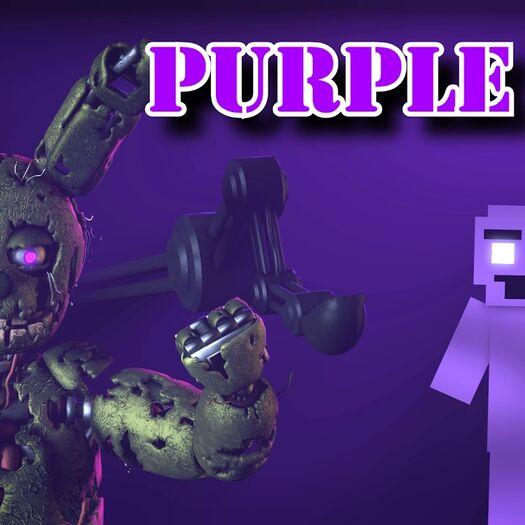 """[SFM] [FNaF] """"I'm the Purple Guy"""" (Remix by SunnyCraft) [Original Song by DAGames]"""