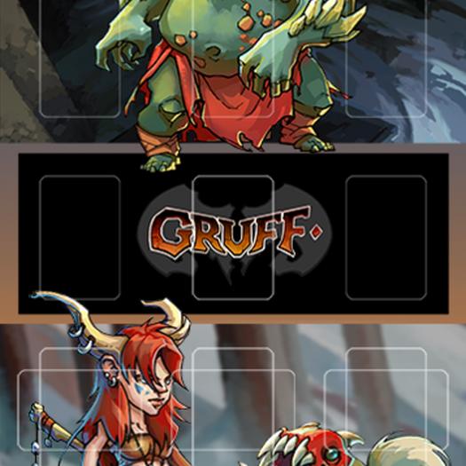 Gruff Playmat: Brat vs Gildfisk