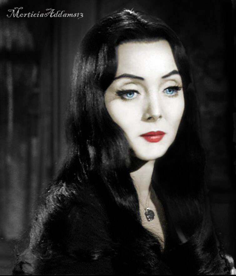 Do you have a secret love for the Carolyn Jones Version of Morticia